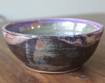Small stoneware serving bowl