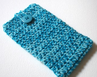 iPhone 6 Cosy in Teal Turquoise - Phone Case, Sock, Cozy - Fashion Accessories - Gadget case - Cell Phone Case for Her Birthday, Sister