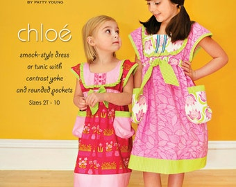 ModKid - Chloe - Paper Sewing Pattern for Girl's dress