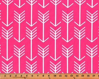 Arrow Fabric, Premier Prints Candy Pink, Fabric by the Yard, Home Decorator Fabric, Upholstery Fabric, Cotton Fabric Yardage