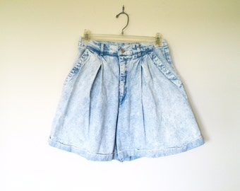 vintage denim jean shorts