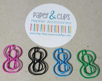 Number 8 Bookmark or Paper clip