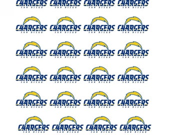 28 San Diego Chargers Football Stickers