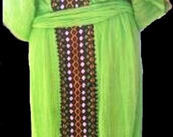 Hand made Ethiopian(Eritrean) Habeshan women Dress, Free shipping world wide.