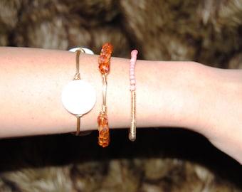 wire wrap bangles