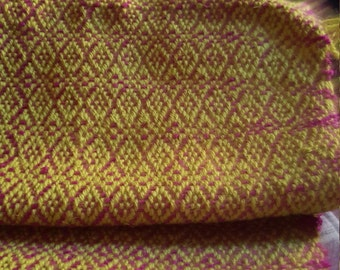 PURE WOOL Handwoven Fabric