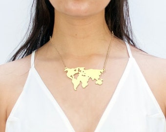 World Necklace -- Connected Continents