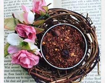 Mocha Cream Dream - Toffee, Creamy Coffee flavor! Rooibos Tea- Luxury Loose Leaf Tea- No Caffeine- gypsy soul- coffee flavor- tea natural