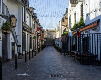 Ashton Lane Glasgow, Scotland Fine Art Photography Print