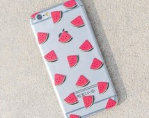 iPhone 6 Plus/6s Plus Case - Watermelon Case - Fitness, Fruit, iPhone, Design, Fashion, Trendy, Hipster, Sale, Cute, Quirky, Supply Square