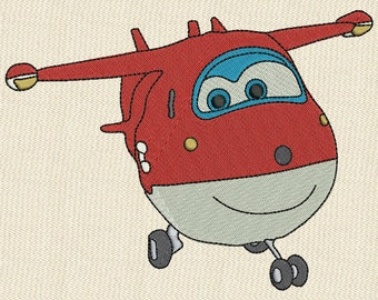3 Super Wings Fill Embroidery Design Collection