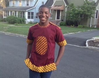 African Men Shirt,Ankara Fabric Men shirt, Men linen shirt, Dashiki men shirt, Men kaftan, African  shirt, Men cotton shirt, African Fashion