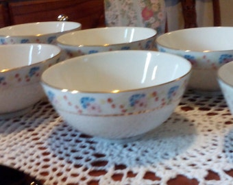 Vintage Chinese Bowls - Vintage - Set of six