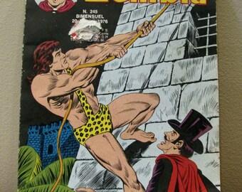 Comic book, Zembla #245, Zembla 1976, vintage comic book, Zembla
