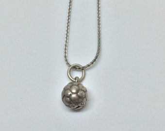 Soccer Ball Sterling Silver Sports Charm Vintage, Item 10- Free Shipping within USA