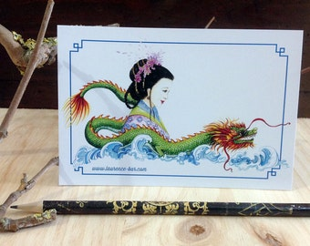 Correspondence Dragon card