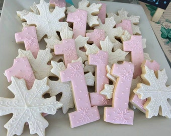 Winter One-derland Sugar Cookies