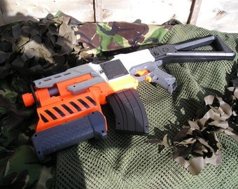 Nerf Demolisher Modified Tamiya motors & worker parts + paint