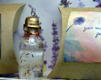 Dandelion Wish Jars