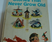 Shirley Temple's Stories That Never Grow Old 1958 Vintage Hardcover Childrens Book 5 Classic Stories