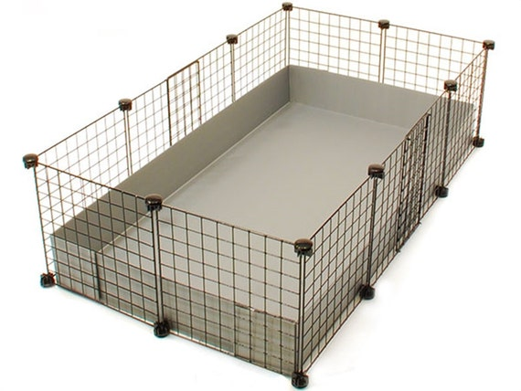 2x3 cc guinea pig cage 14 x 14 wire grid