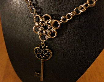 Key Chainmail Necklace