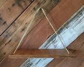 Oak Swing Shelf