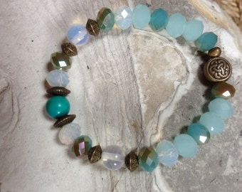 Bracelet Lunessence blue/green Turquoise
