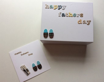 Father's Day gifts and card