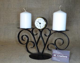 2 Pillar\Clock Candelabra