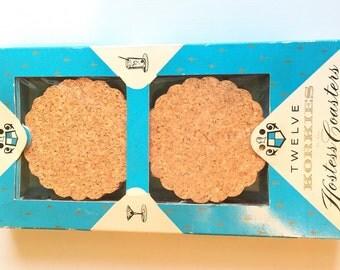 Vintage Korkies Hostess Coasters