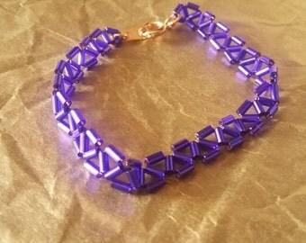 """6"""" Purple Tri-Stitch"""