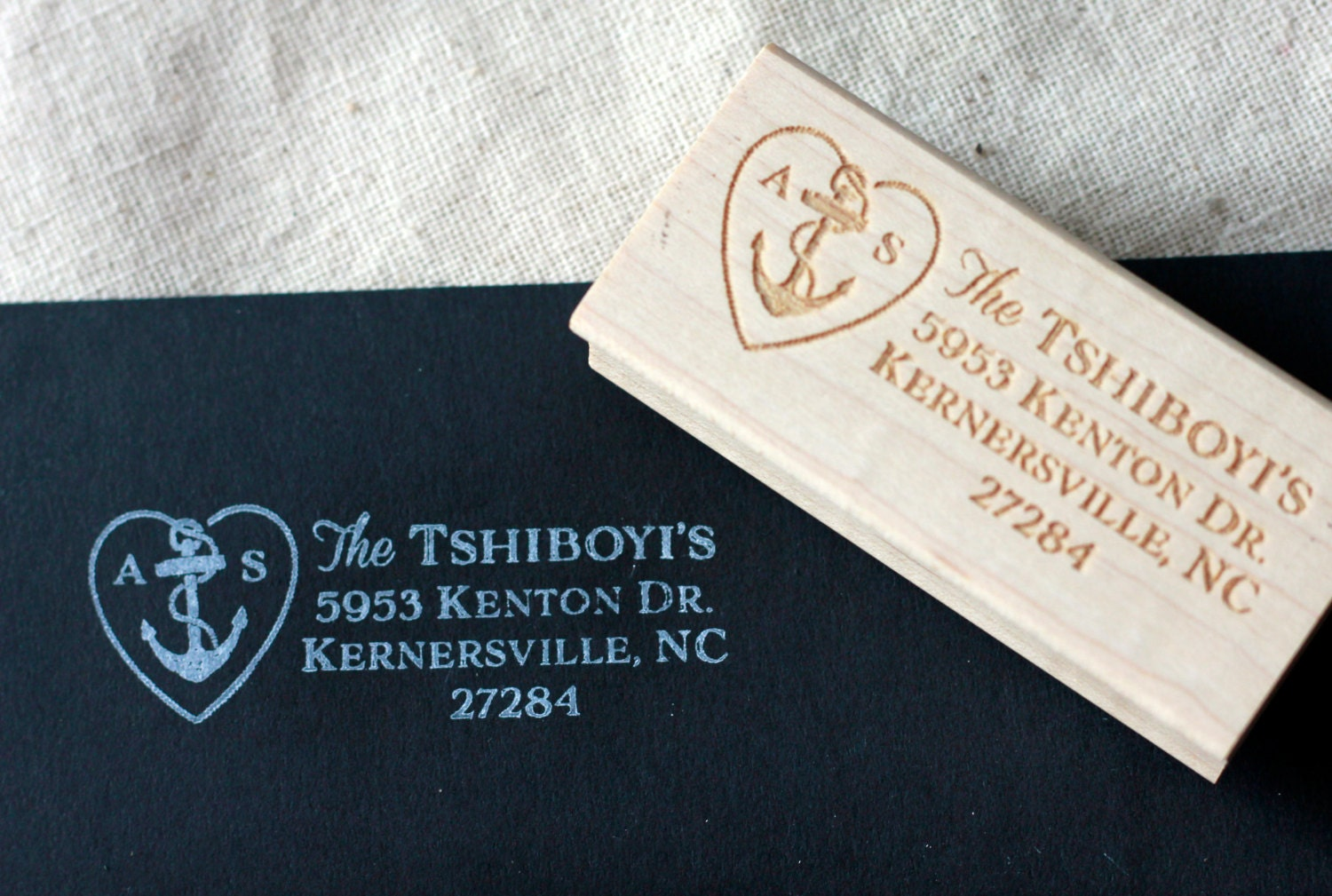custom wedding stamp rsvp stamp personalized stamp