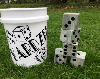 Yardzee, Lawn Dice, Summer Backyard Game,