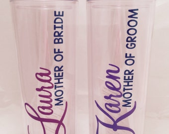 16 oz double wall acrylic tumbler set of two. Personalized. Please include personalization details in the comments.