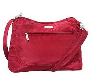 Travelon Anti-Theft red shoulder bag