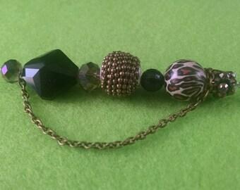 """Jungle  Beauty 6"""" stick pin #2"""