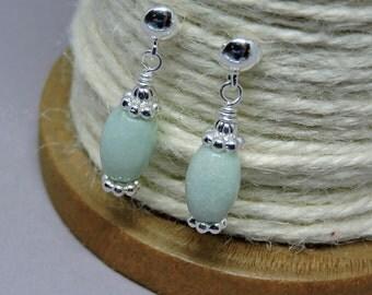 Lynn Wrap Earrings - Mint