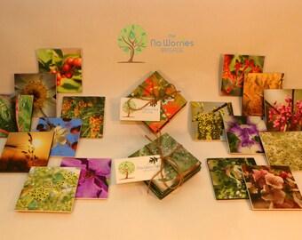 Handmade, Quality Coasters - Original Photography - Set of 4