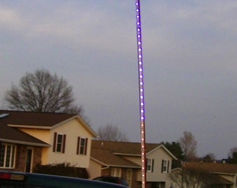LED Flagpole 4FT