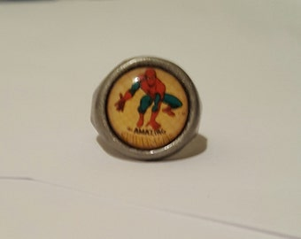 Spiderman adjustable bubble ring