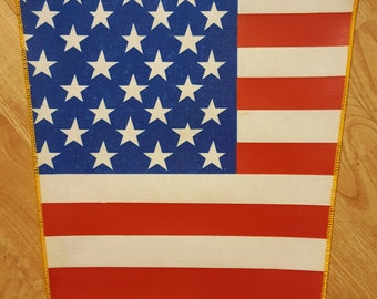 American  Flag  Backpatch