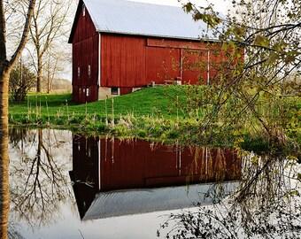 Reflected Barn