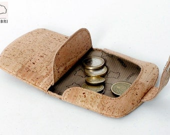 Cork Purse for coins, wallet or coin holder in Cork