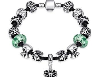 The Luck Of the Irish Pandora Inspired Bracelet