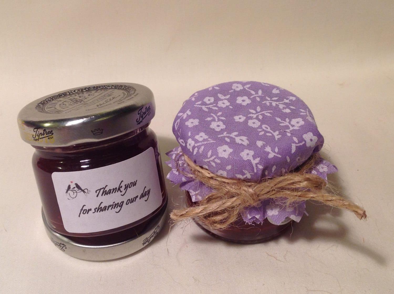 jam covers x 50 wedding favour fabric mini jam jar lid top. Black Bedroom Furniture Sets. Home Design Ideas