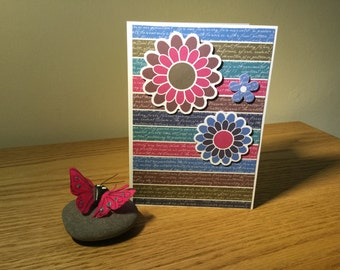 Handmade Cards - All Occasions - Floral Design - A024