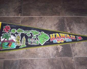Hawaii Pennant Banner
