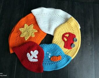Handmade Hat, Crochet Hat, Handmade Sunhat, Crochet Sunhat, Handmade Baby Hat, Crochet Baby Hat, Handmade Boy's Hat, Crochet Boy's Hat