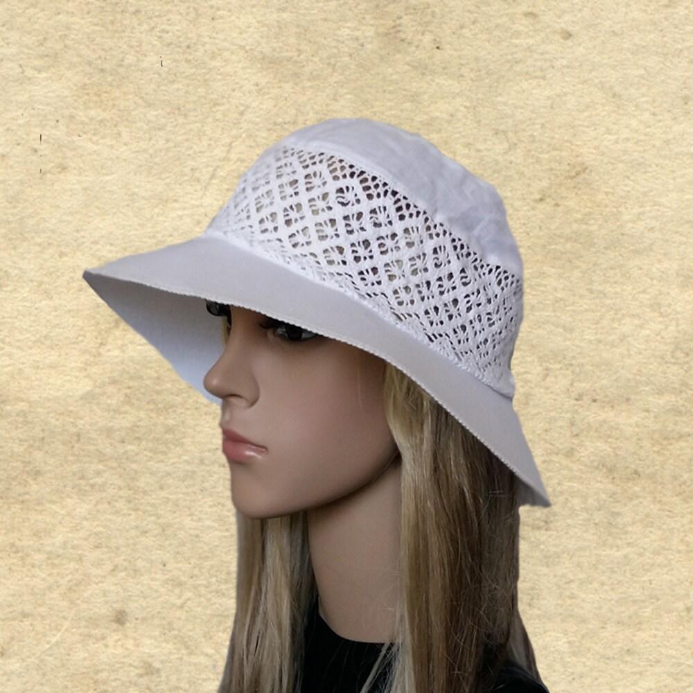 suns womens hats cotton summer hats white linen hats